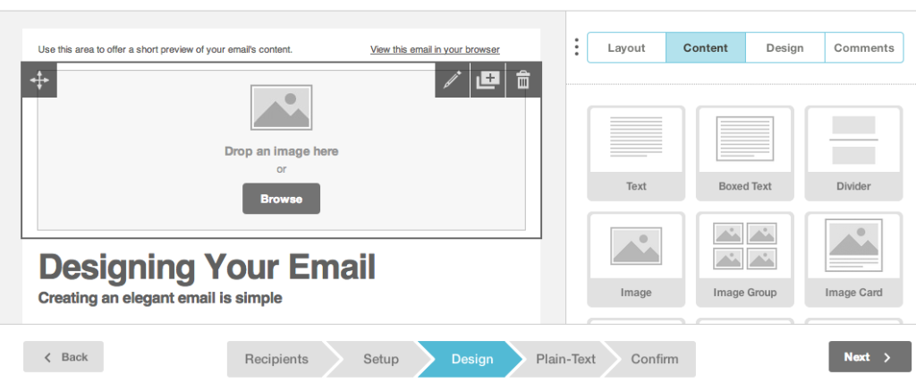 MailChimp-interface copy