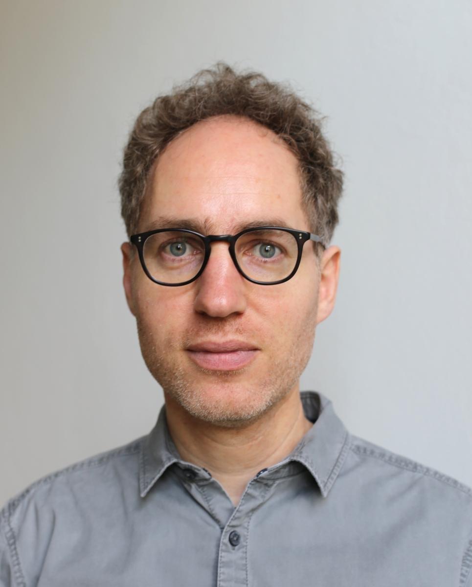 Portrait of Manuel Schmalstieg in 2019