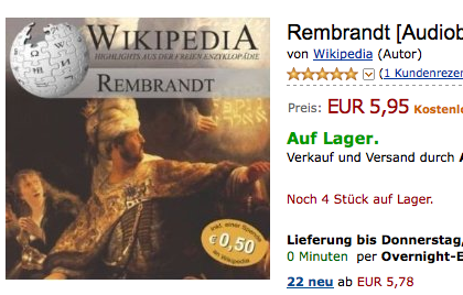 cover of the Rembrandt audio-book